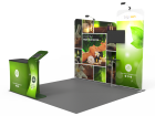 10x10ft Custom Trade Show Booth 03