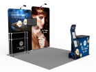 10x10ft Custom Trade Show Booth B1