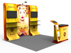 10x10ft Custom Trade Show Booth G
