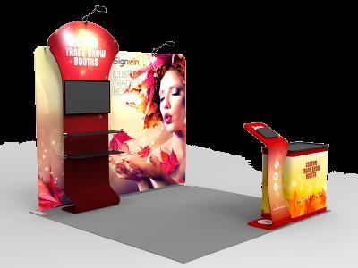 10x10ft Custom Trade Show Booth I