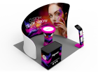 10x10ft Custom Trade Show Booth L