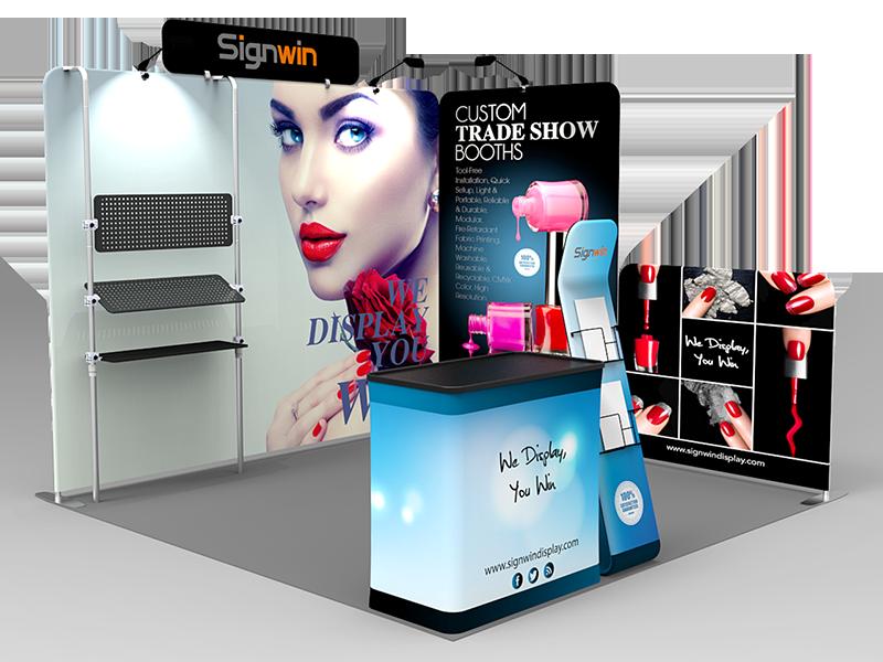 10x10ft Custom Trade Show Booth O