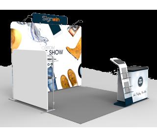 10x10ft Custom Trade Show Booth V