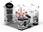 10x10ft Custom Trade Show Booth Z