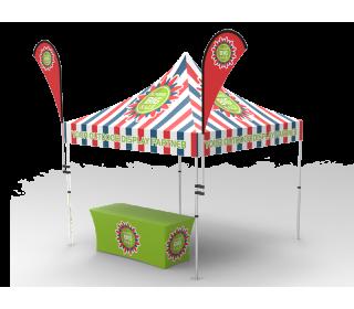10x10 Custom Pop Up Canopy Tent Combos 13