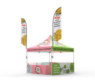 10x10 Custom Pop Up Canopy Tent Combos 14