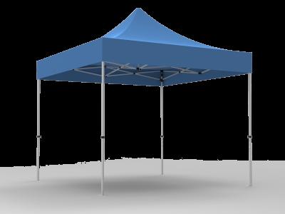 10x10 Unprinted Blue Pop Up Event Tent Canopy