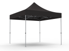 10x10 Unprinted Black Pop Up Event Tent Canopy