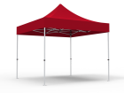 10x10 Unprinted Red Pop Up Event Tent Canopy