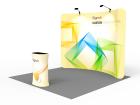 10x10ft Standard Trade Show Booth 01