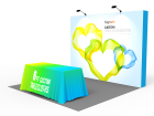 10x10ft Standard Trade Show Booth 14