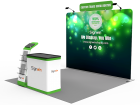 10x10ft Standard Trade Show Booth 19
