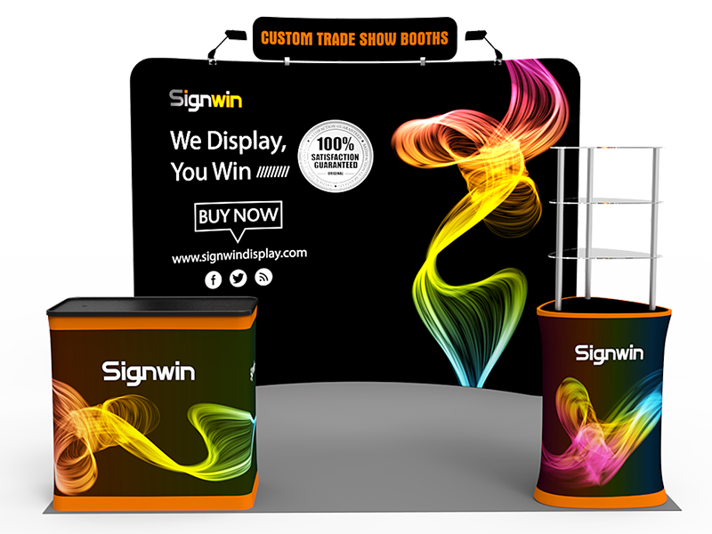 10x10ft Standard Trade Show Booth 22