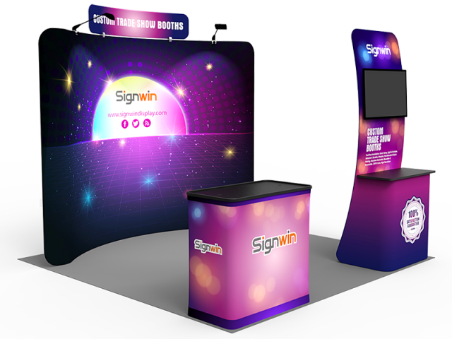 10x10ft Standard Trade Show Booth 26