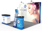 10x10ft Standard Trade Show Booth 31