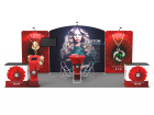 10x20ft Custom Trade Show Booth 01