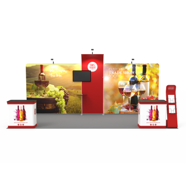 10x20ft Custom Trade Show Booth 04