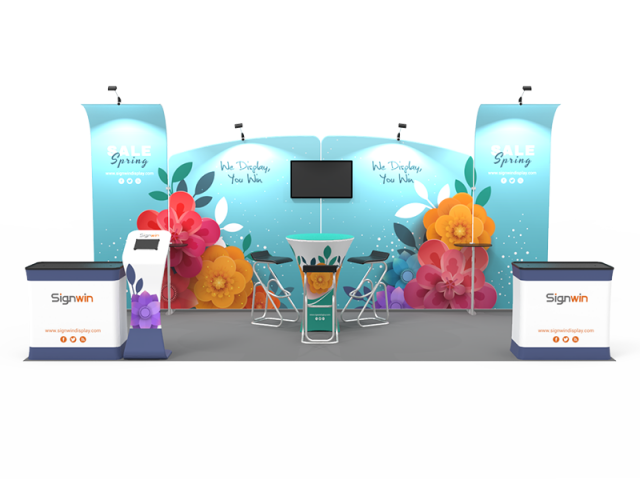 10x20ft Custom Trade Show Booth 05