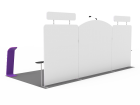 10x20ft Custom Trade Show Booth 06