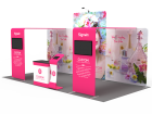 10x20ft Custom Trade Show Booth 15