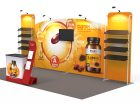 10x20ft Custom Trade Show Booth 16