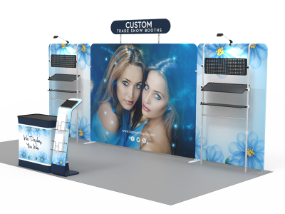 10x20ft Custom Trade Show Booth 18