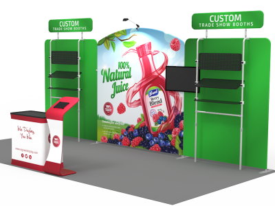 10x20ft Custom Trade Show Booth 19