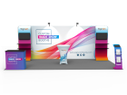 10x20ft Custom Trade Show Booth A