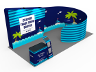 10x20ft Custom Trade Show Booth C