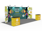 10x20ft Custom Trade Show Booth E