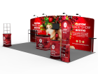 10x20ft Custom Trade Show Booth F