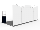 10x20ft Custom Trade Show Booth H