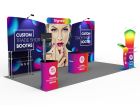 10x20ft Custom Trade Show Booth K