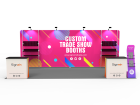 10x20ft Custom Trade Show Booth M