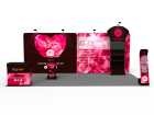 10x20ft Custom Trade Show Booth N