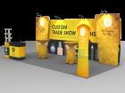 10x20ft Custom Trade Show Booth O