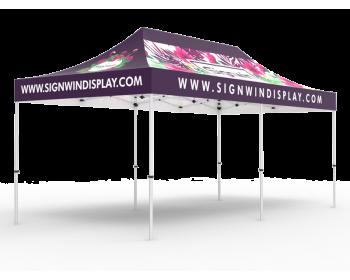 10x20 Custom Pop Up Canopy Tent