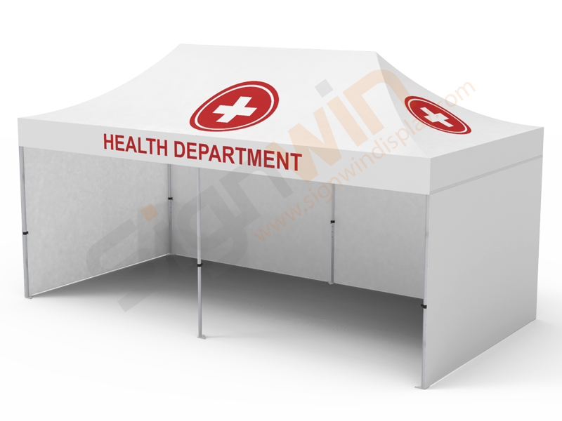 Medical Quarantine Isolation Tent 10x20 White With 3 Sided