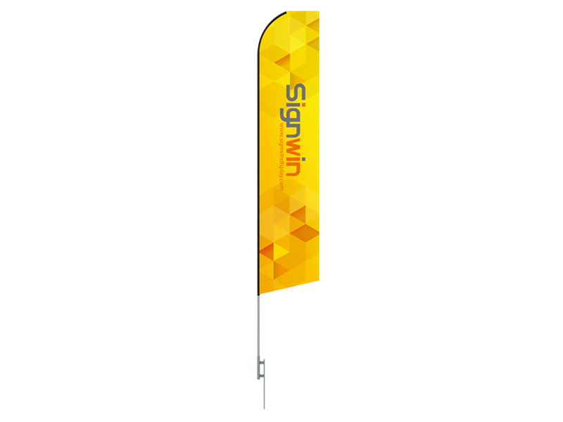 Massage Special Econo Flag 16ft Advertising Swooper Flag Kit with Hardware