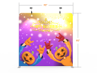 8x8 Halloween Flat Tension Fabric Backdrop Banner Stand 02