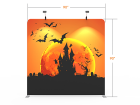 8x8 Halloween Flat Tension Fabric Backdrop Banner Stand 03