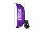 Archy Backpack Walking Flag Banner Custom Design
