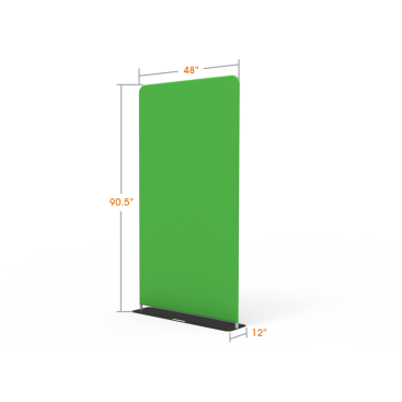 Economical Green Screen Video Backdrop for Online Conferencing Display