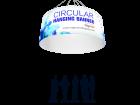 Circular Tube Hanging Banner Custom Printing