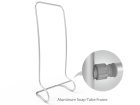 C-Shaped Tension Fabric Banner Stand