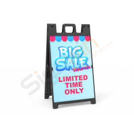 Signicade Deluxe A Frame Sign Graphic Print Sandwich Board Sign for Promotion Advertising 01