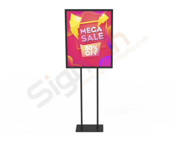 Poster Graphic Print Floor Stand for Promotion Advertising 01