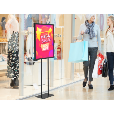 Poster Graphic Print Floor Stand for Promotion Advertising 01 - Signwin