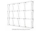 10ft Straight & Solid Pop Up Backwall Display