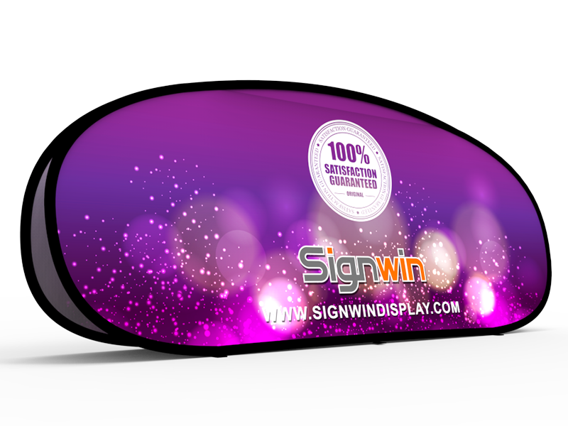 Large Horizontal Pop Up A Frame Banner Stand